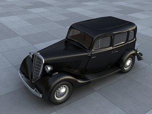 car gaz 3d model