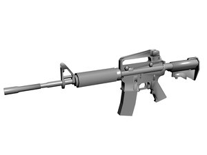 maya m4 carbine m16 rifle