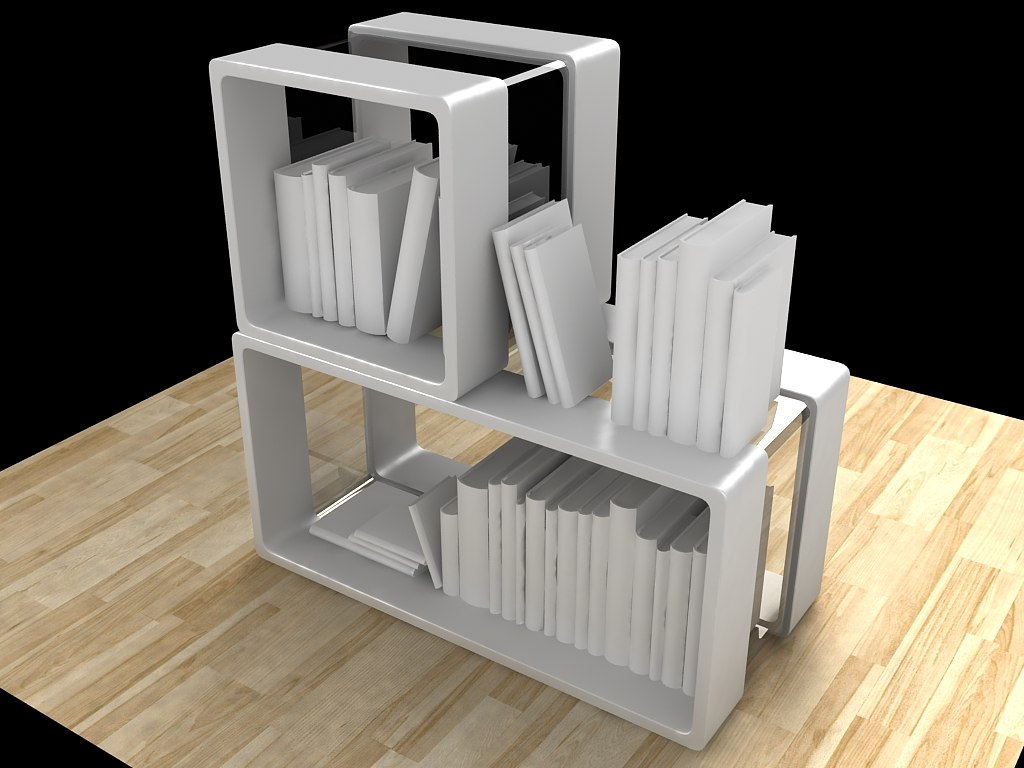3ds max plastic furnishing