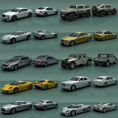 car city 3d model