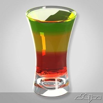 shot cocktail 3ds