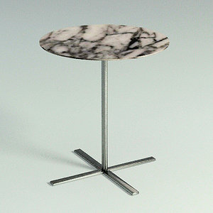 3d capri table - materials