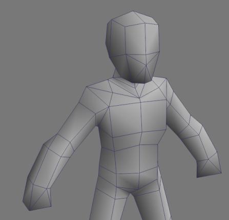 3dsmax base male mesh rts