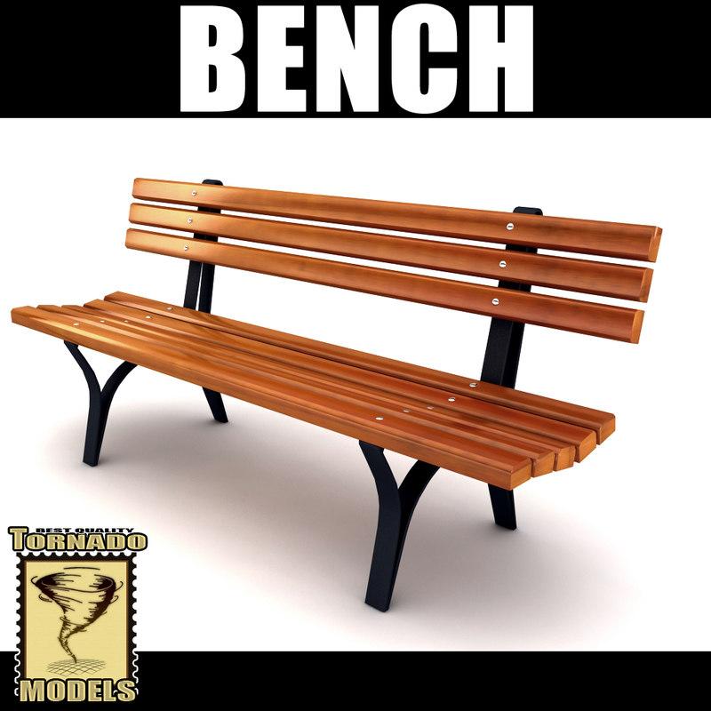 playground bench 3d 3ds