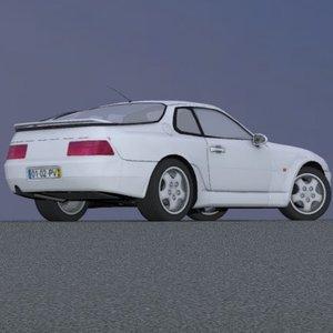 european sports hatchback suspension car 3d 3ds
