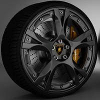 Callisto Lamborghini Gallardo wheel rim