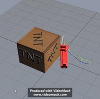 explosives tnt 3d model
