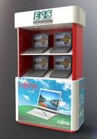 3d display unit model