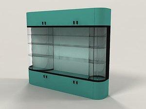 vitrine 3d 3ds