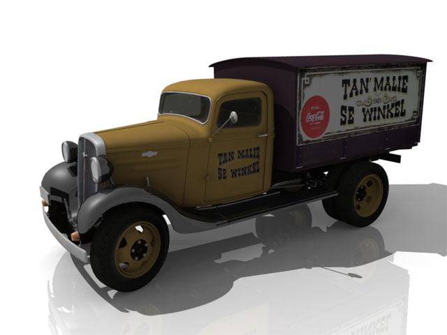 1936 chev truck ma
