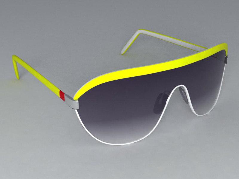 glasses sunglasses sun 3d model