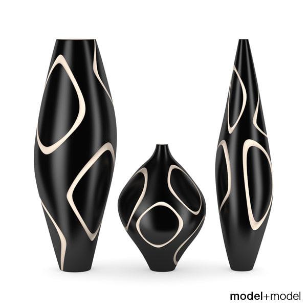 3d fosceramiche naum vases
