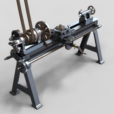 maya lathe engine circa 1879