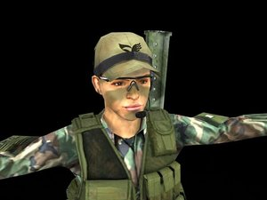 army woman 3ds