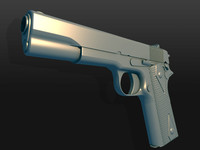 Colt M1911 High Poly