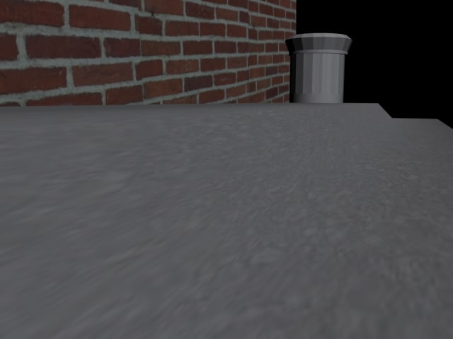 quick stop sidewalk 3d model