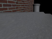 quick stop sidewalk 3d model