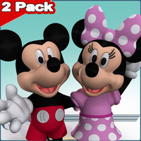 2 Pack: Mickey & Minnie