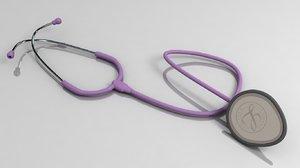 3ds max stethoscope 3m lightweight ii