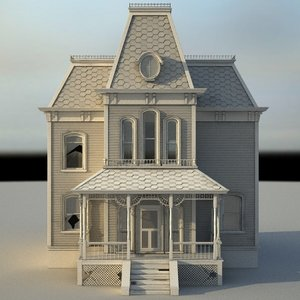 psycho house s 3d model