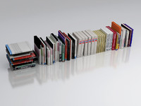 3D model of books