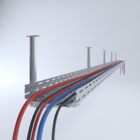 cable duct 3d model