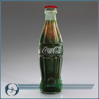 iconic cola bottle 3d model