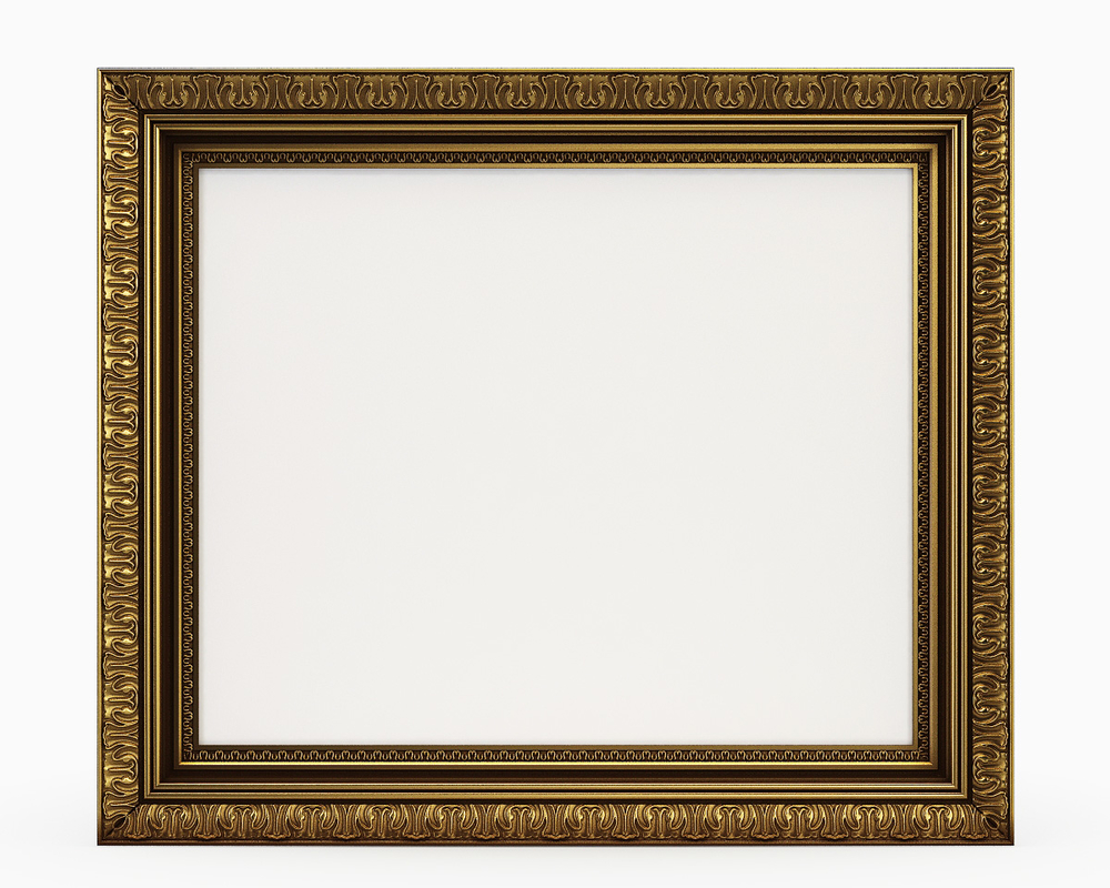 frame pictures classic 3d model