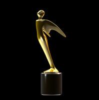 3d model telly award