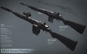 maya m14 rifle scope package