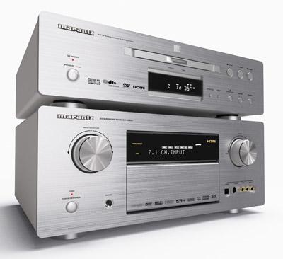 3d model marantz dvd player amplifier