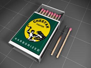maya matchbox matchsticks