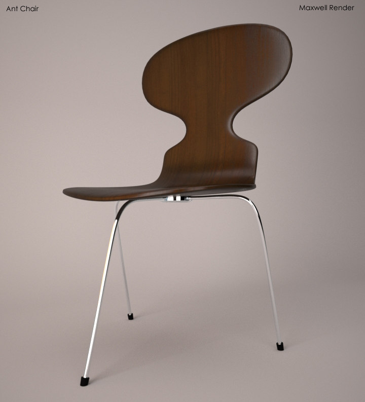 3d ant chair