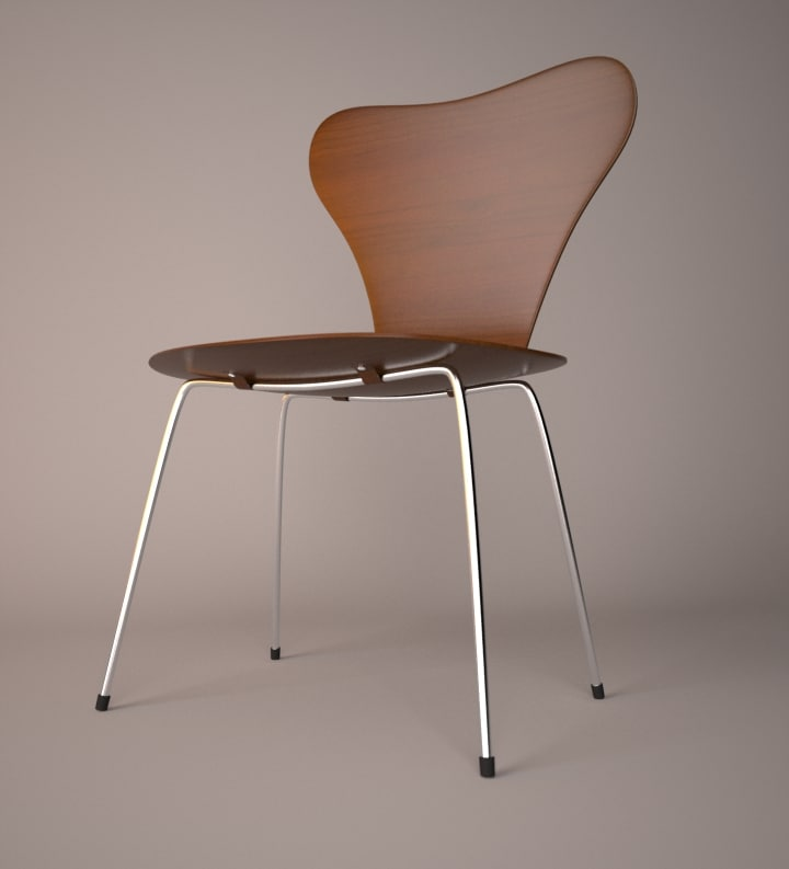3ds max seven chair