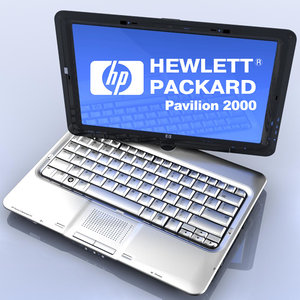 3d notebook pavilion 2000 hp model