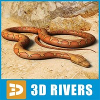 3ds max python orange snakes