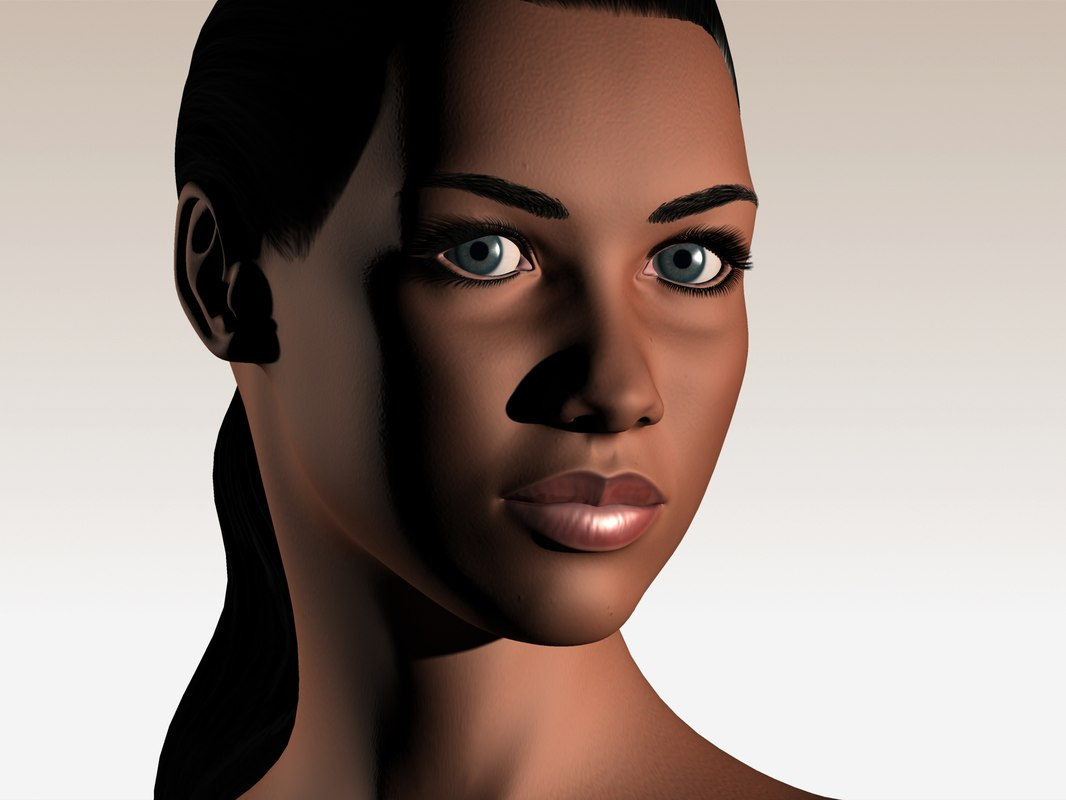 maya realistic woman naomi