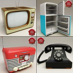 3d retro electronics