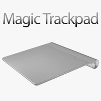 3d model apple magic trackpad