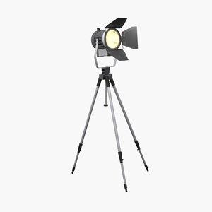 standing light spot 3d model