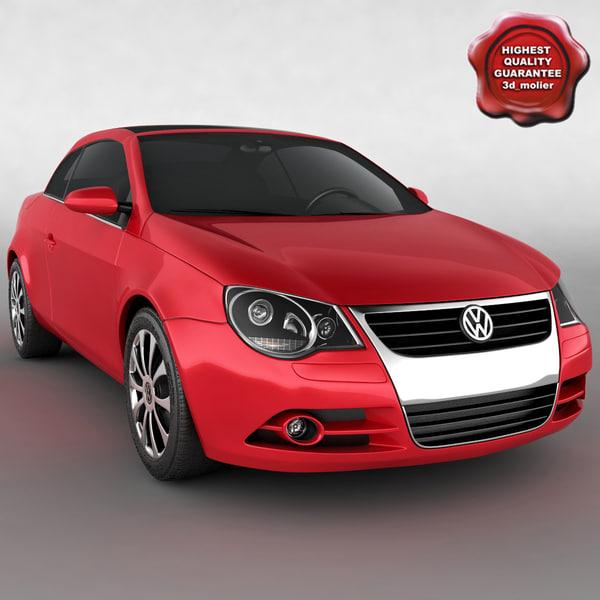 Eos Volkswagen Used: Volkswagen Eos 3d Model