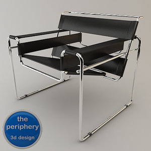 wassily chair 3d max