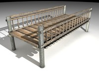woodbridge bridge 3d 3ds