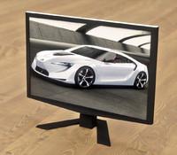 3d model acer 22 monitor