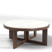 baker verneuil 9351 round cocktail table marble top modern contemporary