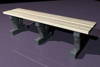 3d bench