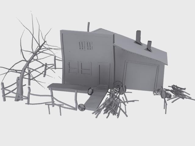 ghost blacksmith 3d model