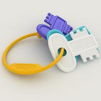 3d toy key