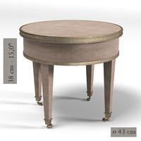 pierre table serving 3d model