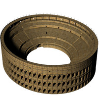 roman colosseum 3d model